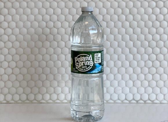 Poland Spring Water Bottle 33.8oz