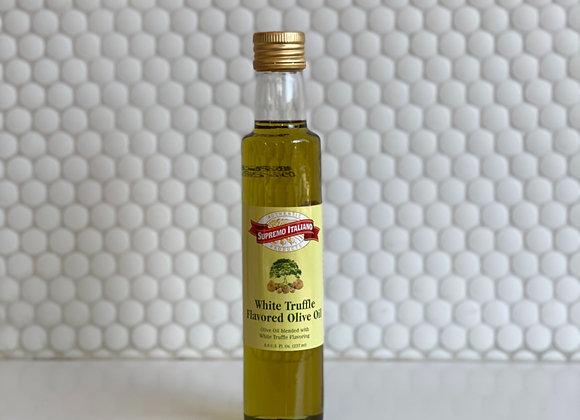White Truffle Flavored Olive Oil 8oz