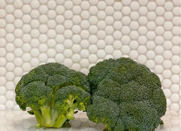 Broccoli (2 heads)