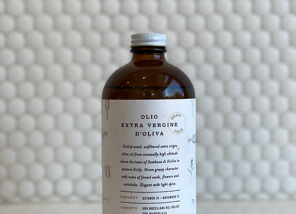 Cold Pressed, Extra Virgin Olive Oil