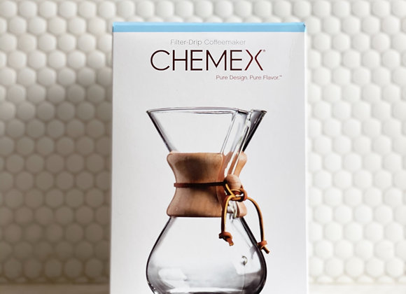Dripper Chemex 6 Cup Wood