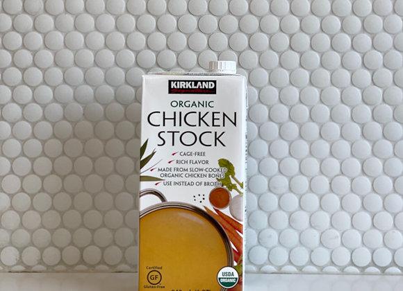 Organic Chicken Stock 32oz
