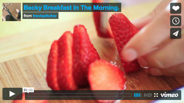 Video- Breakfast in the Morning