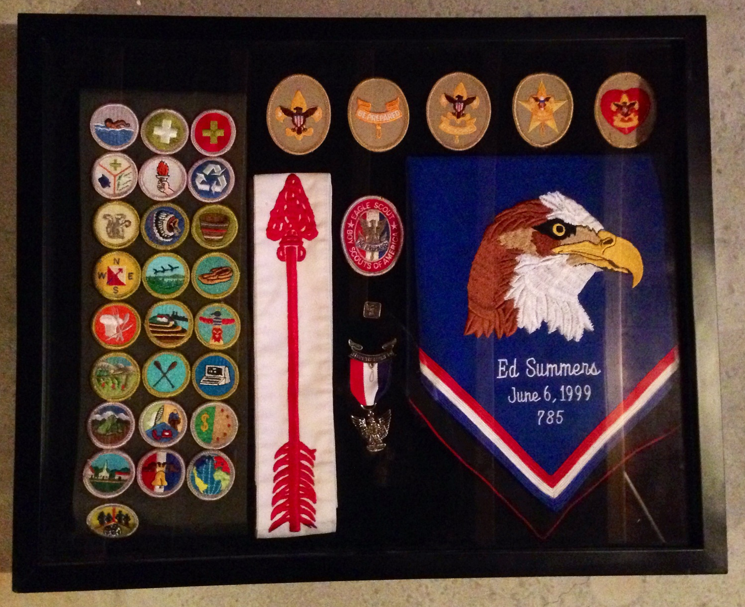 Shadow Box - Eagle Scout