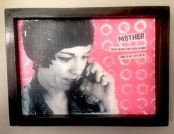 A Mixed-Media Portrait of Mom