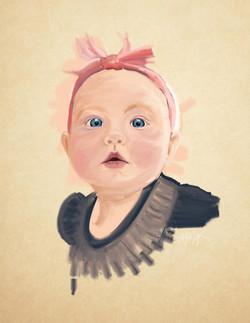 Digital Portrait by Adam Zollinger