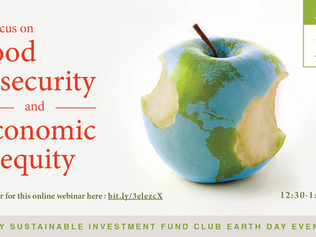 Earth Day Event on Food Insecurity and Economic Inequity