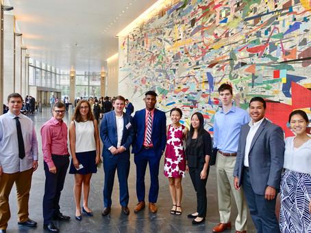 Student Field Trip to Goldman Sachs