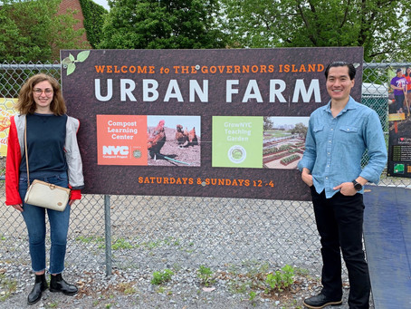 Student Visit to the Urban Farm Initiative in Governors Island