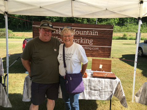 Ran into a long time friend Betty at the Creekside Flea Market