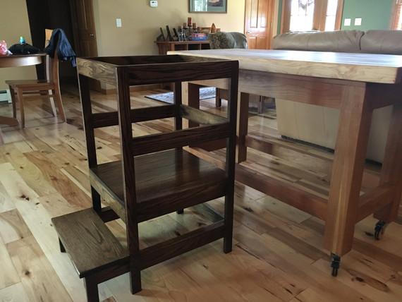 Jay's kitchen helper stool!!!