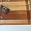 Thumbnail: Sapele & Curly Maple Cutting X-large Juice groove Cutting Board.