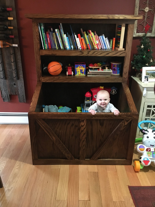 Our grandson Jay's loving his toy box!!!!
