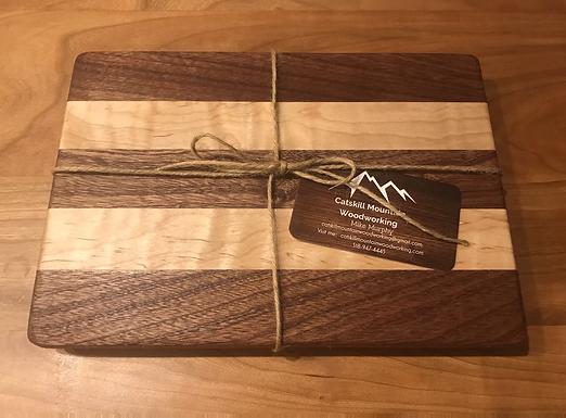 Sapele & Curly Maple Board