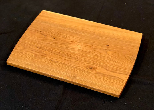 Solid Cherry Large Cutting Board