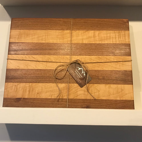 Sapele & Maple Cutting Board