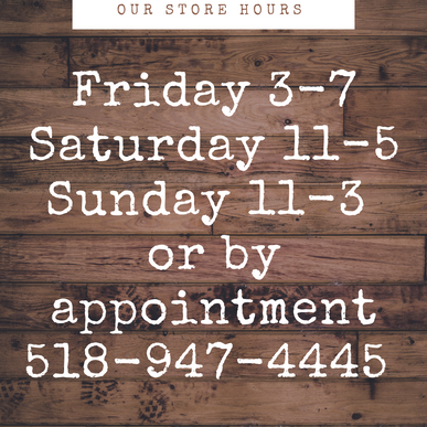 Come see us at 393 Main Street in Catskill!