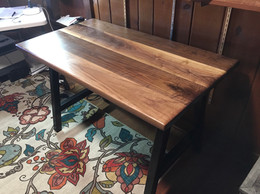 Laurie's Custom Solid Walnut Desk