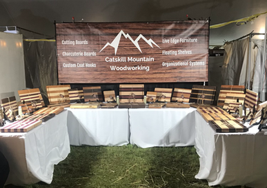 Our display at the Woodstock New Paltz Arts & Crafts Festival Memorial Day 2021!!!