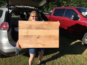 """Custom 2' X 3"""" maple baker's board!!!"""