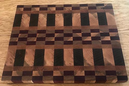 Unique End Grain Cutting Board