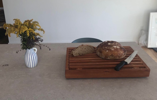Kathleen &  Andrew's Cherry French Bread Board!!!
