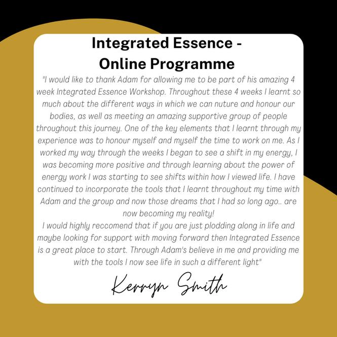 Integrated Essence Online Programme