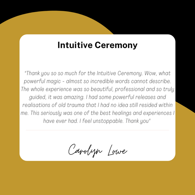 Intuitive Ceremony