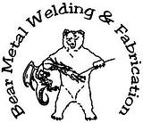 Bear Metal Welding Logo