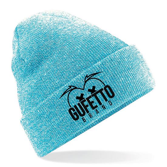 Cappellino Gufetto Brand Mountain Celeste acqua