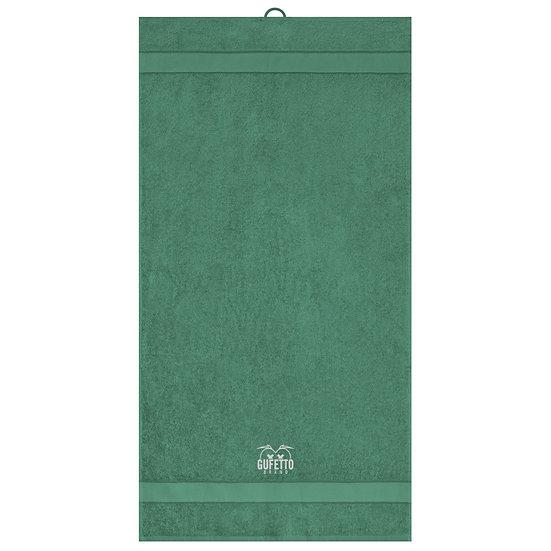 Asciugamano Gufetto Brand Dark Green ( Logo Ricamato )