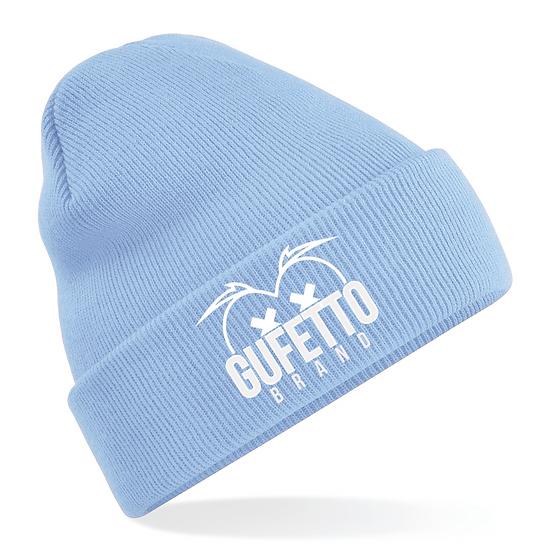 Cappellino Gufetto Brand Mountain Celeste cenere
