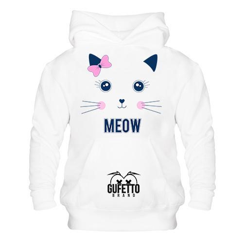 Felpa donna Meow