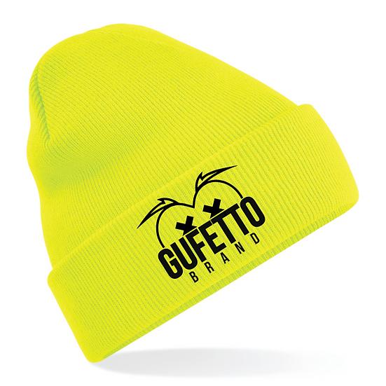 Cappellino Gufetto Brand Mountain Giallo Fluo