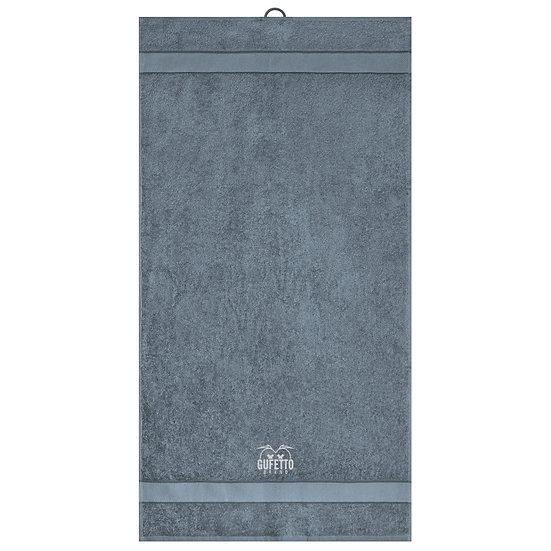 Asciugamano Gufetto Brand Grafite ( Logo Ricamato )