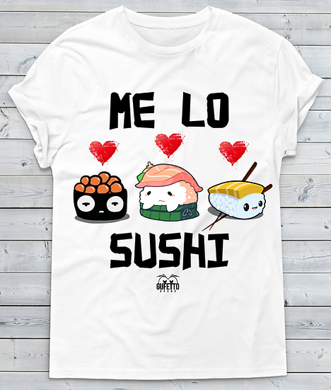 T-shirt Uomo Me lo SUSHI Outlet