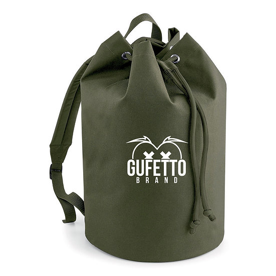 Sacca con cordoncino Gufetto Brand ( con Logo Ricamato )