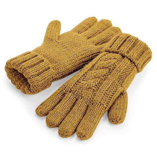 Guanti in maglia