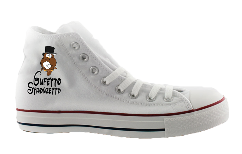3 PAIA di Sneakers By Gufetto Ricamate Donna