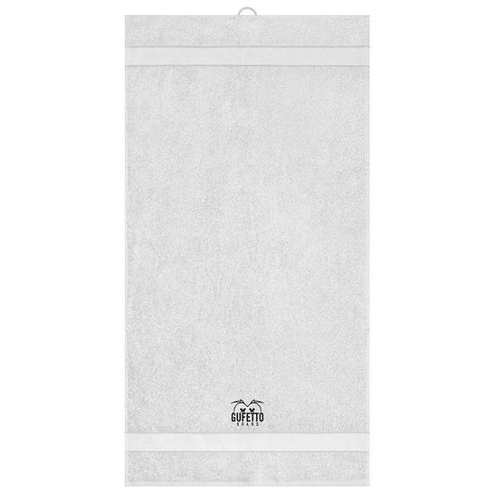Asciugamano Gufetto Brand Bianco ( Logo Ricamato )