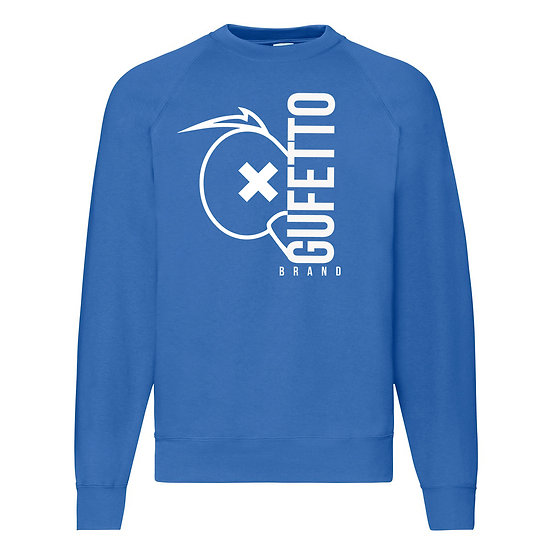 Felpa donna Gufetto Brand Blu