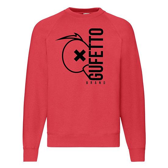 Felpa donna Gufetto Brand Red