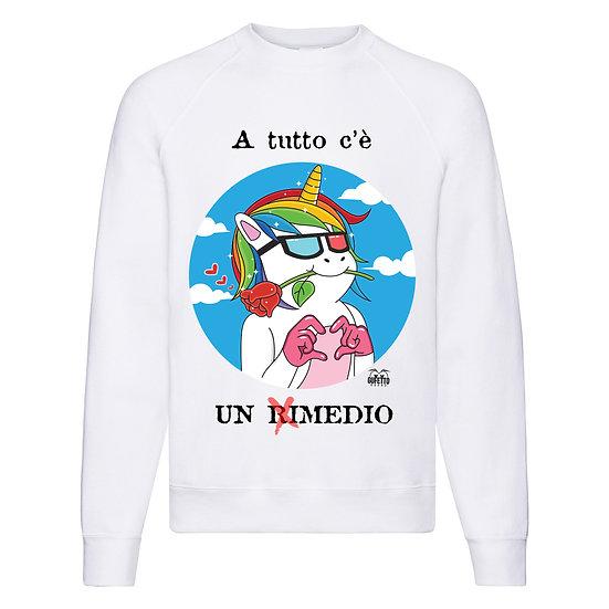 Felpa Classic  Uomo Donna Rimedio ( D927 )