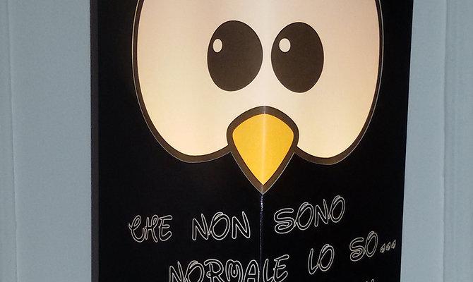 Gufetto-Lamp Nera Che non sono Normale...