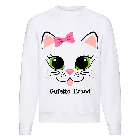 Felpa Classic Donna Gufetto Cat ( E8401 )