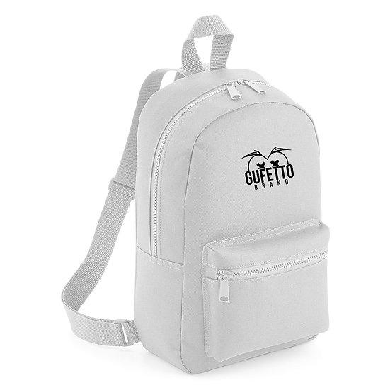 Zaino Essential Fashion Light Grey Gufetto Brand ( con Logo Ricamato )