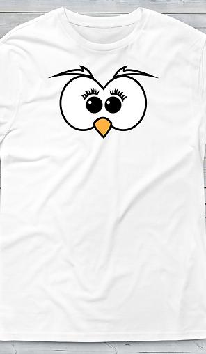 T-shirt personalizzata con foto Gufetta