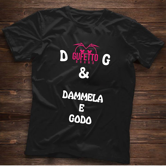 T-shirt Uomo D & G