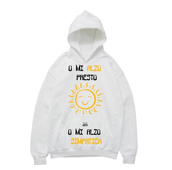 Felpa donna Mi alzo Sun ( C589 )