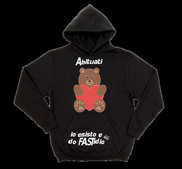 Felpa uomo Abituati Baby Bear